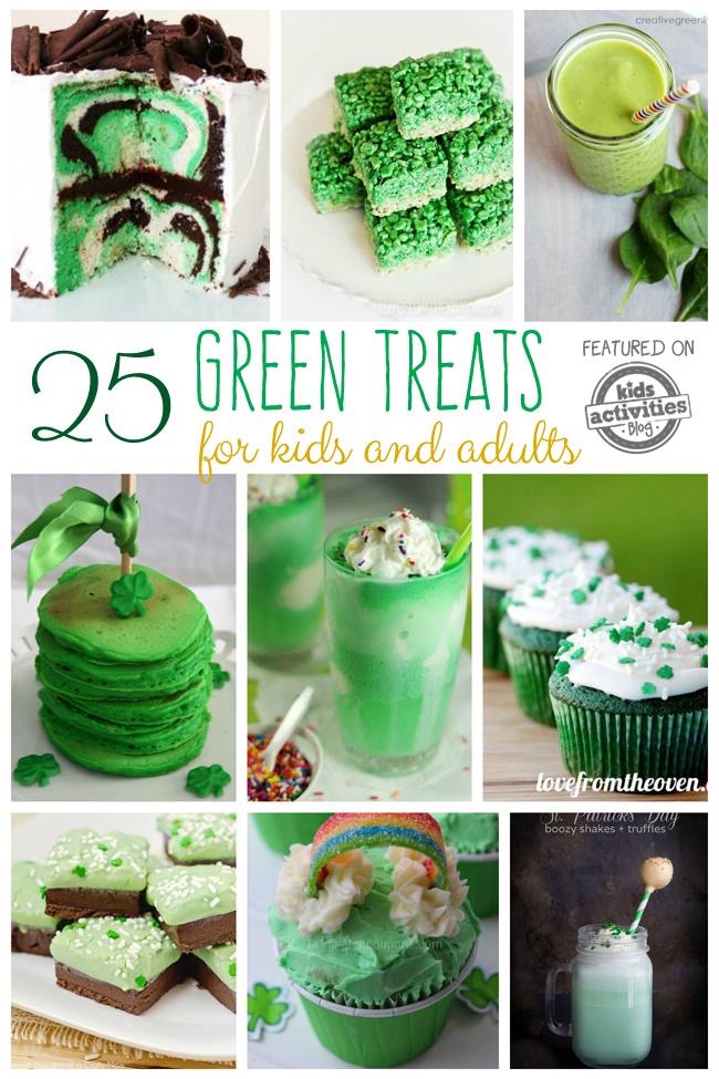 25 Green Food Ideas: Treats for Kids and Adults