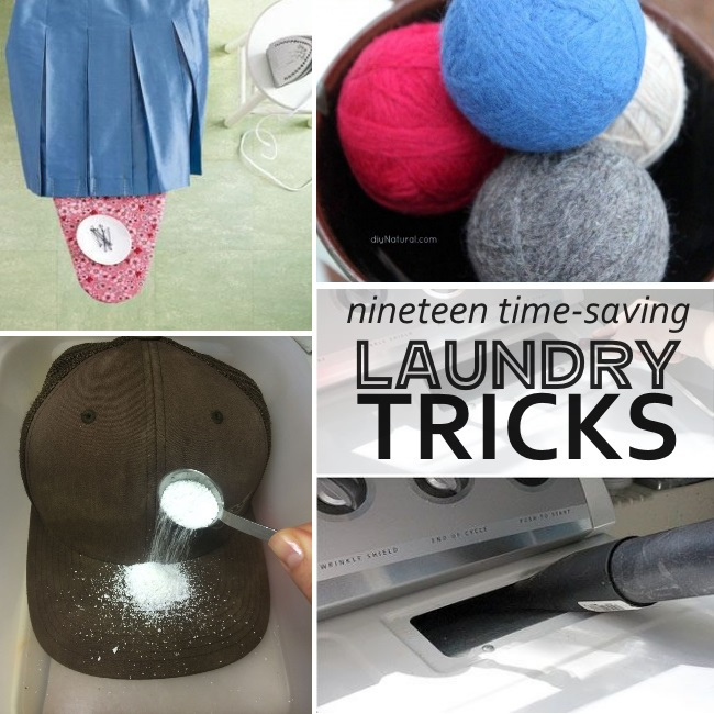 ideas to make laundry easier