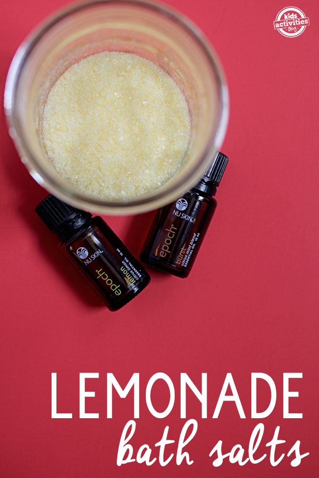 DIY Lemonade Bath Salts