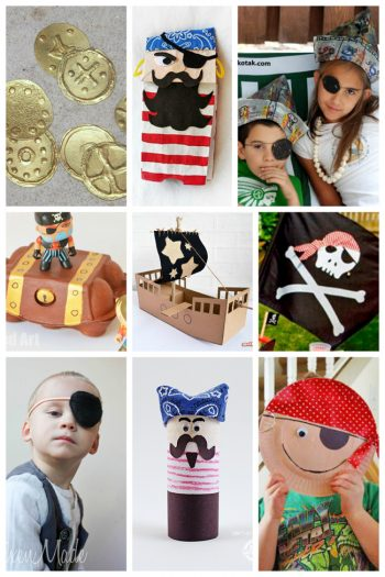 25 Pirate Crafts