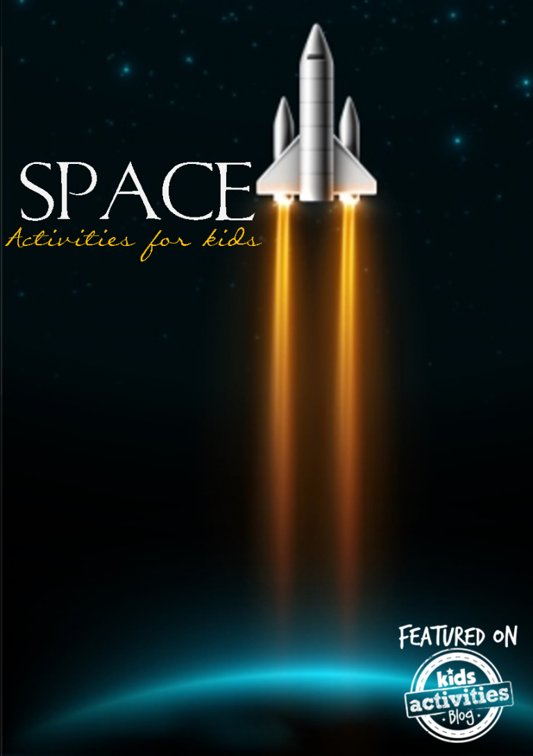 Over 27 Space Activities for Kids