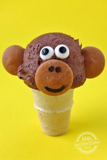Ice Cream Cone Monkey