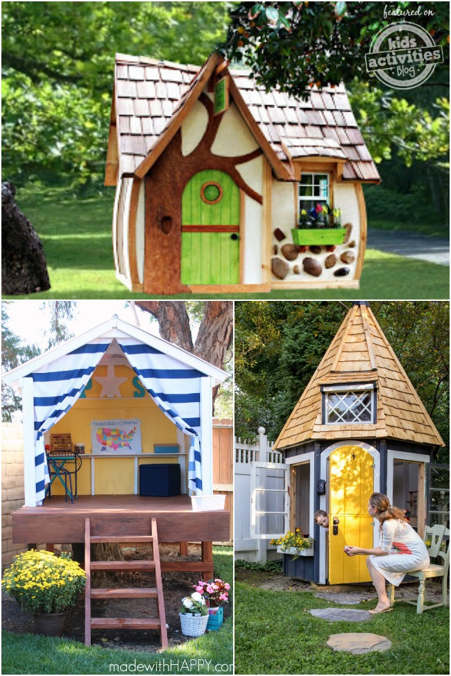 outdoor playhouses to dream about