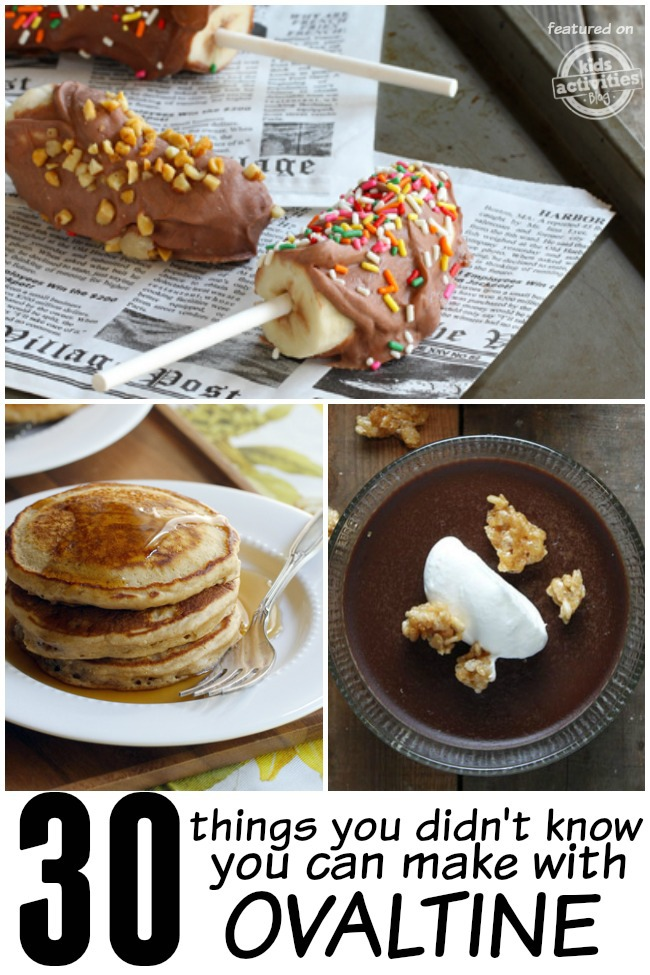 ovaltine recipes pin