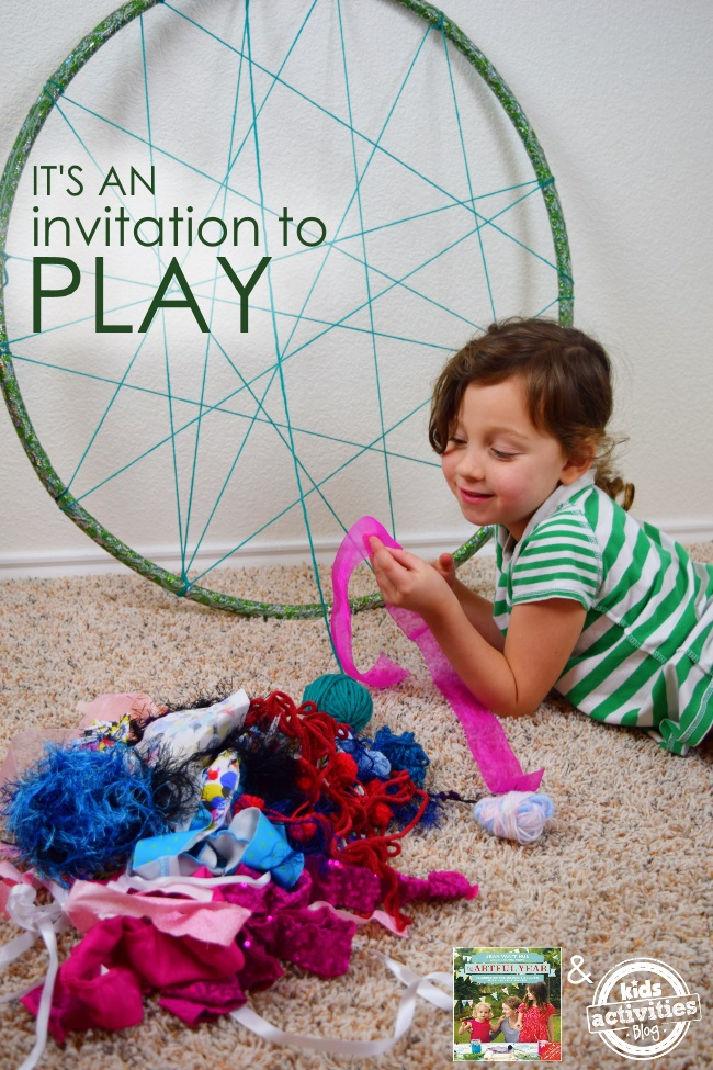 weaving activity for kids