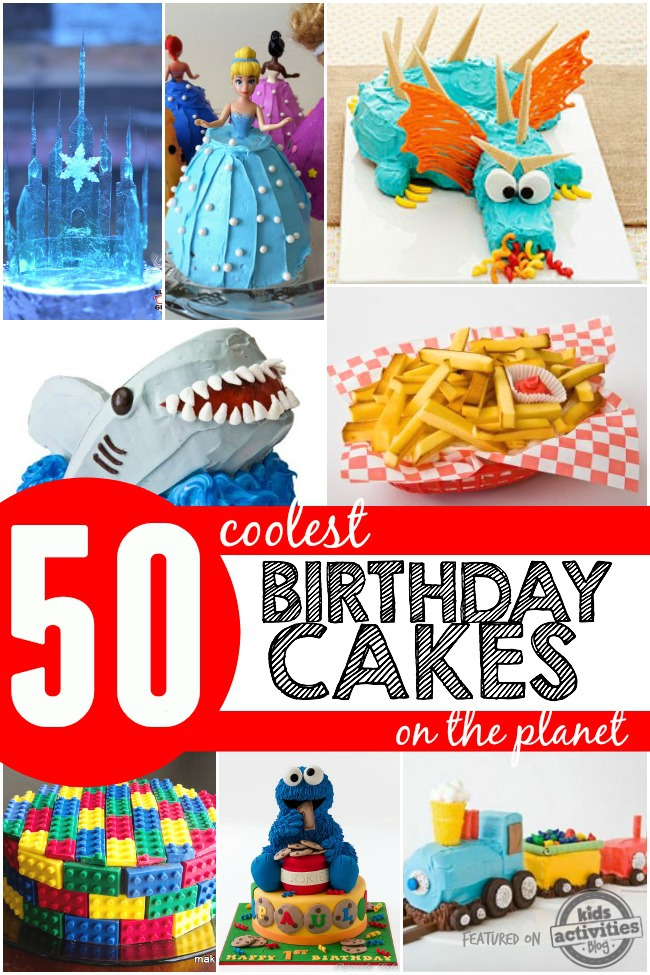 Brilliant 50 Coolest Birthday Cakes On The Planet Personalised Birthday Cards Rectzonderlifede