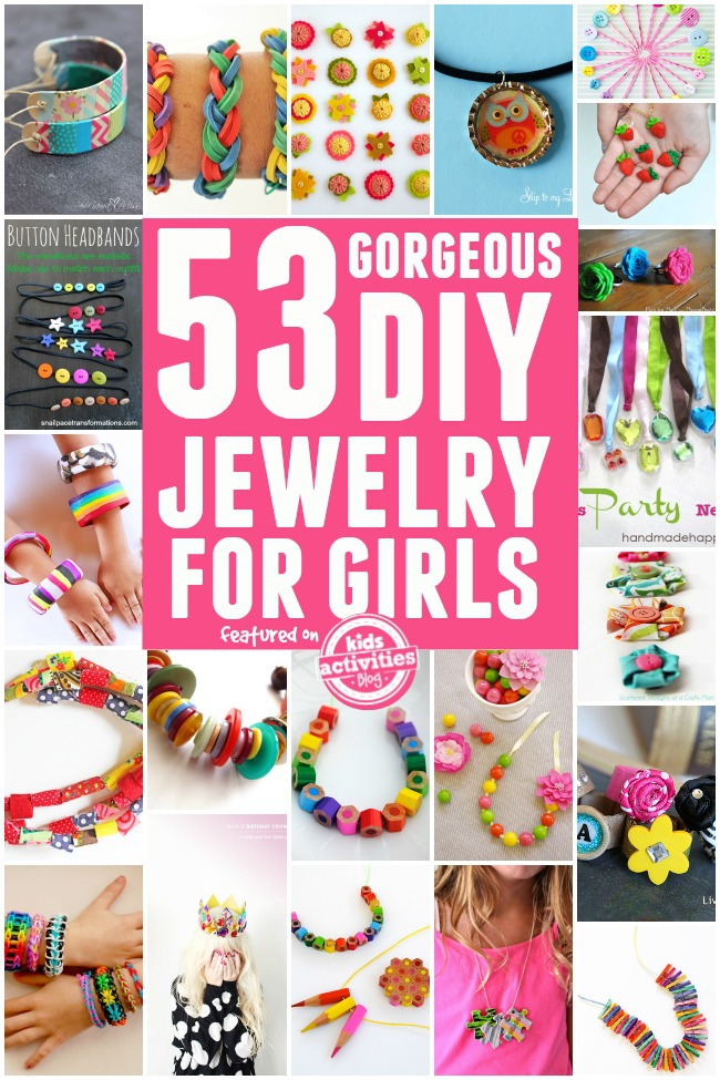 diy jewelry for girls