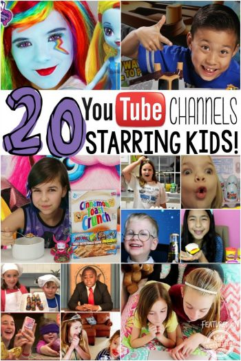 youtube channels starring kids