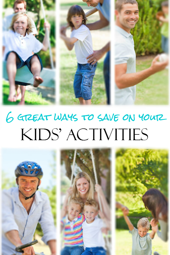 6 Great Ways to Save On Your Kids Activities
