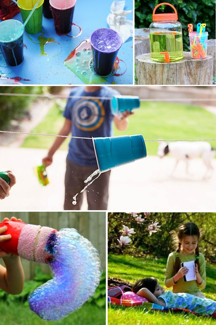 back yard play ideas for kids to do