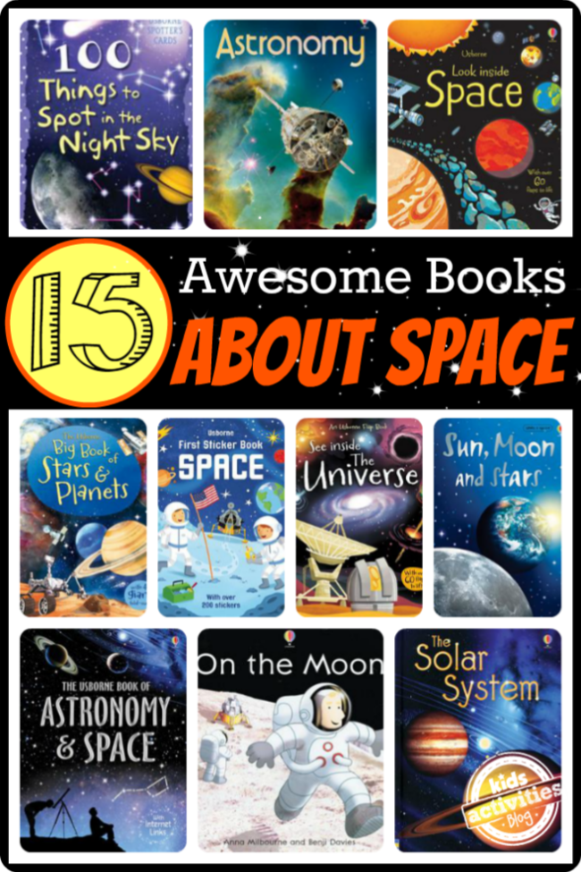 15 Books for Kids About Space!
