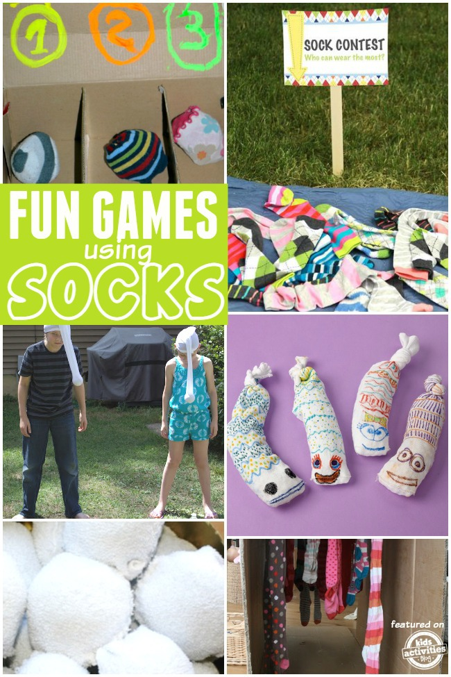 games with socks