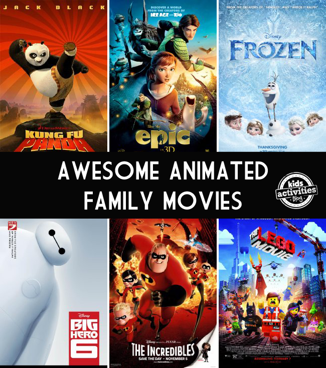 best family animated movies - 10 animated films we love for family movie night