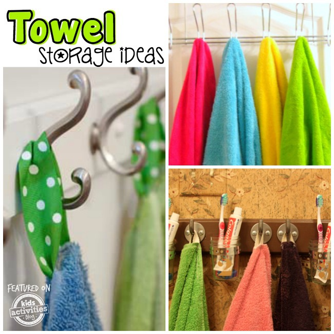 towel storage ideas