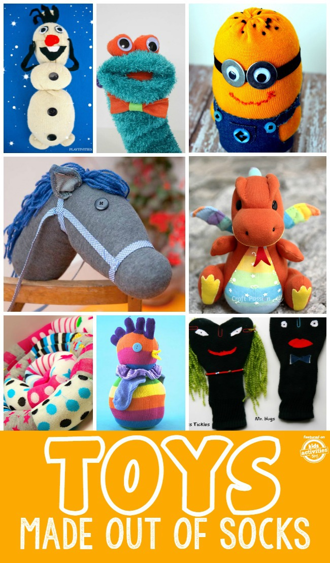toys made out of socks