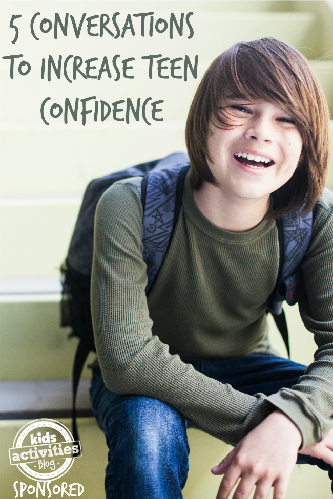 5 conversations to increase teen confidence