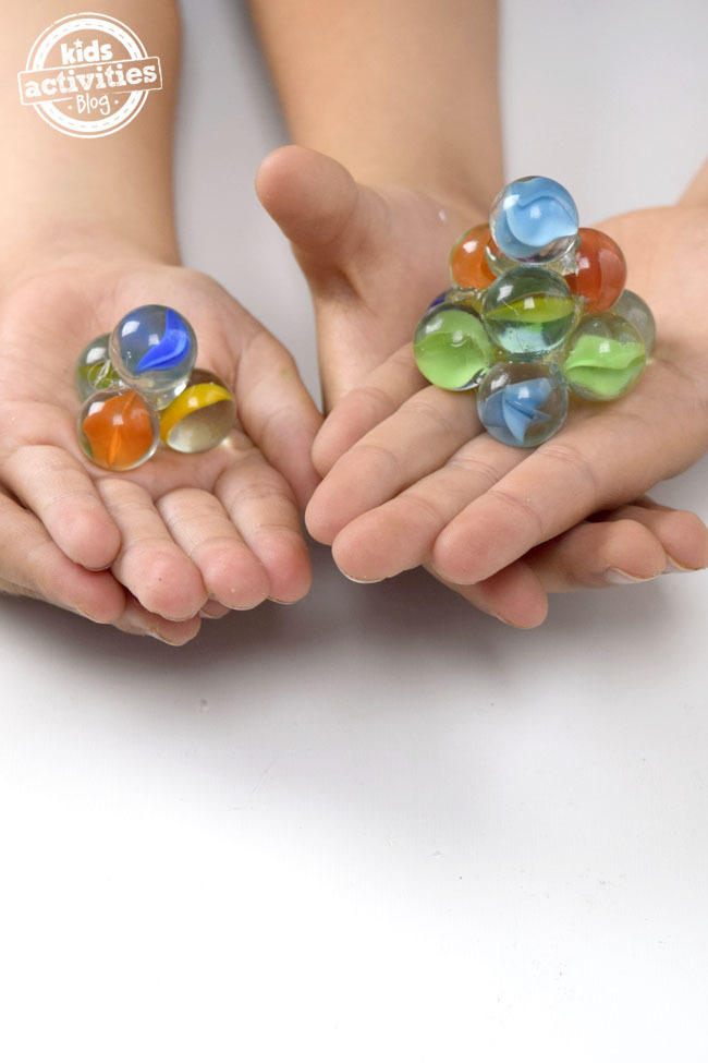 Inertia and Spinning Marbles