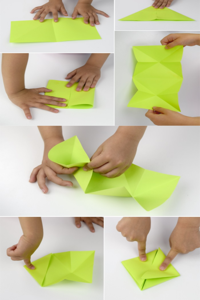 Origami and Kinetic Energy- Stem Activity