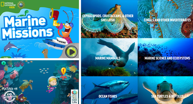 ocean apps for kids
