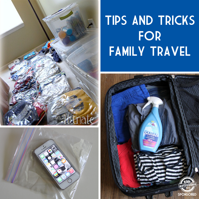 tips and trick for family travel
