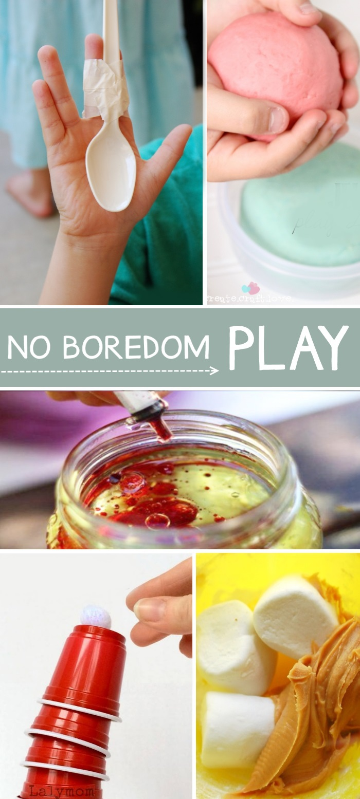 what to do when kids are bored