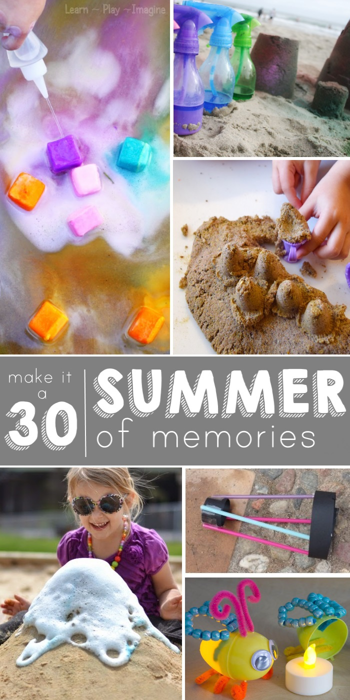 30 Fun ideas for summer