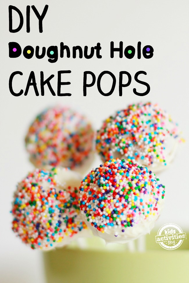 Doughnut Hole Cake Pops Feature