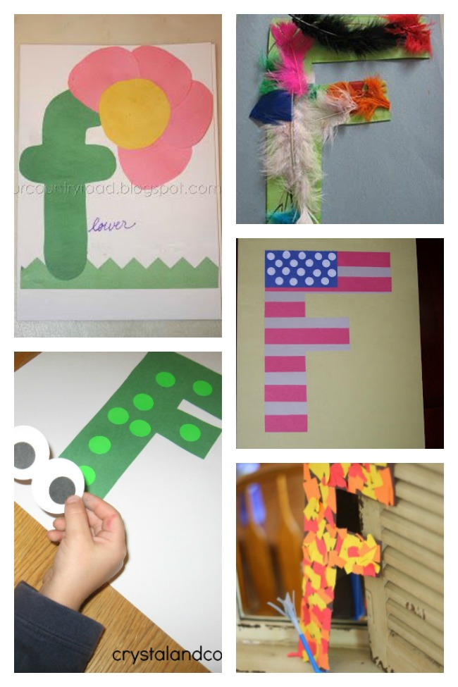 12 Fantastic Letter F Crafts & Activities