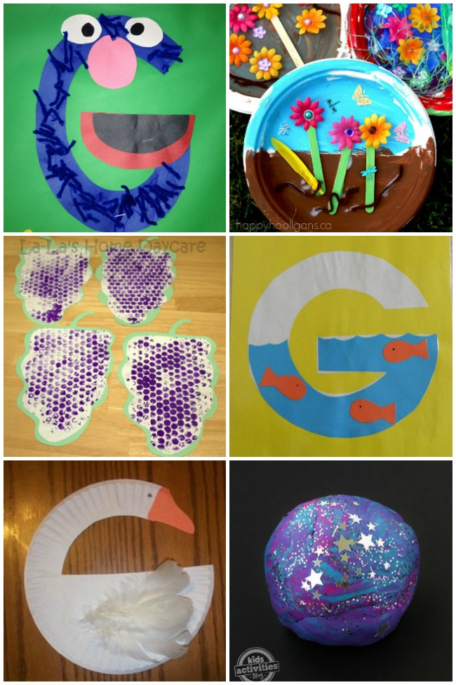 14 Great Letter G Crafts & Activities