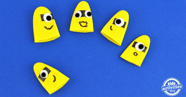 Minion Finger Puppets Facebook