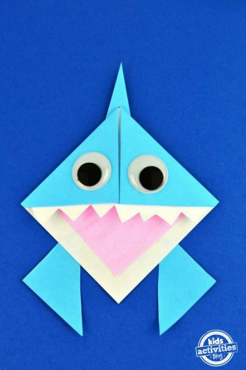 Celebrate Shark Week With This Cute Origami Shark Book Mark
