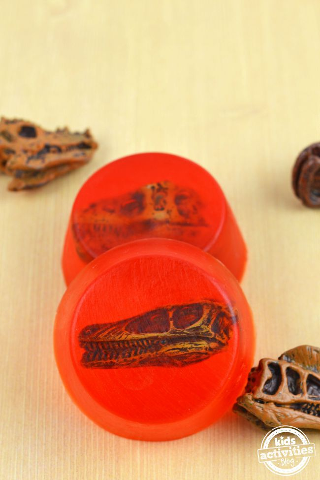 Make Your Own Prehistoric Soap