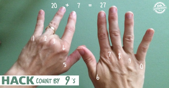 secret way to count by nines