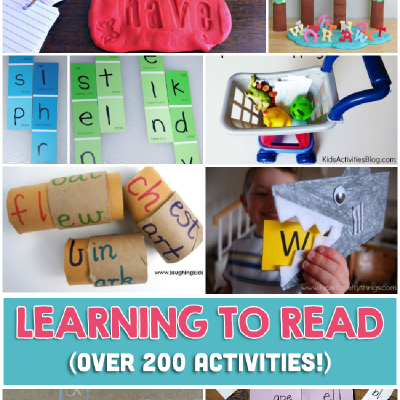 200+ Fun and Easy Learn To Read Activities Your Child Will Love