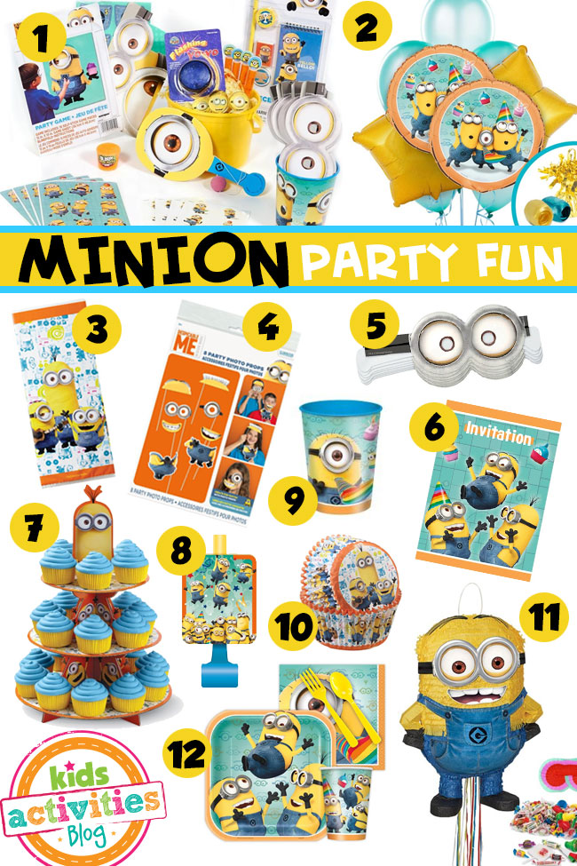 Fun Minion Party Ideas