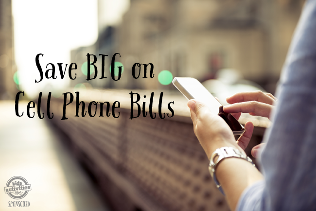 save on cell phone bills