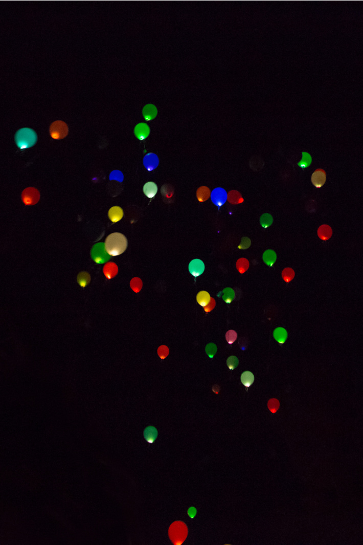 Make Glow in the Dark Balloons with Glow Sticks