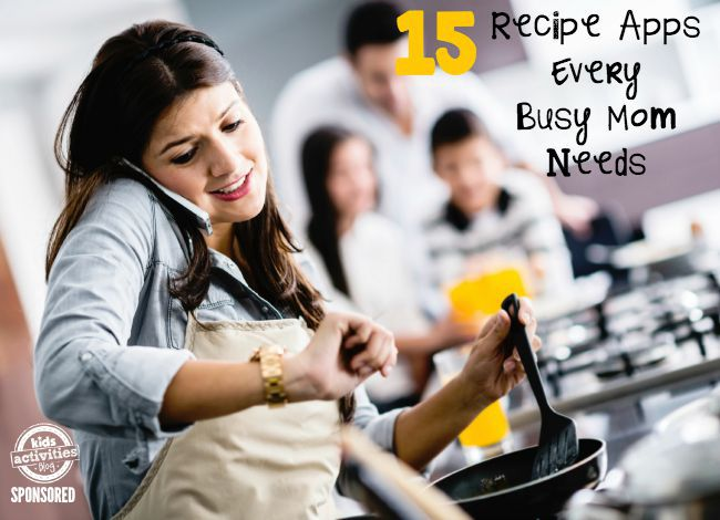 RECIPE APPS FOR BUSY MOMS