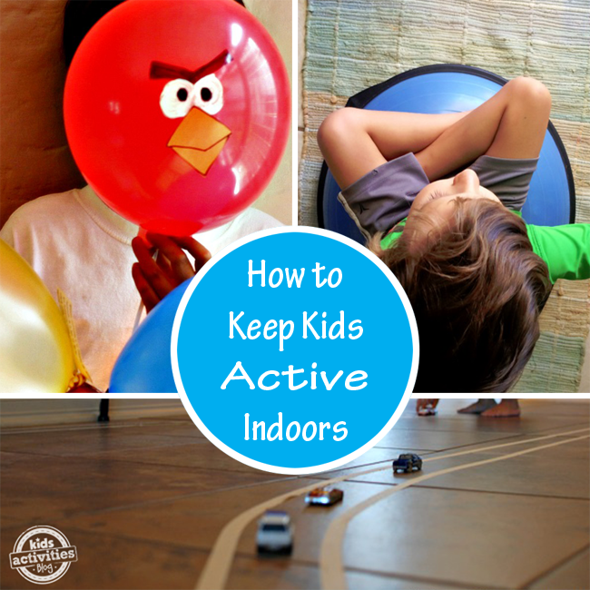 keep kids active