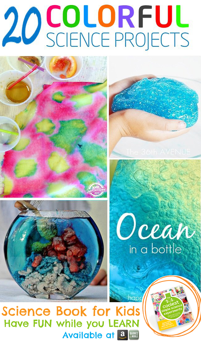 Colorful Science Experiments for Kids