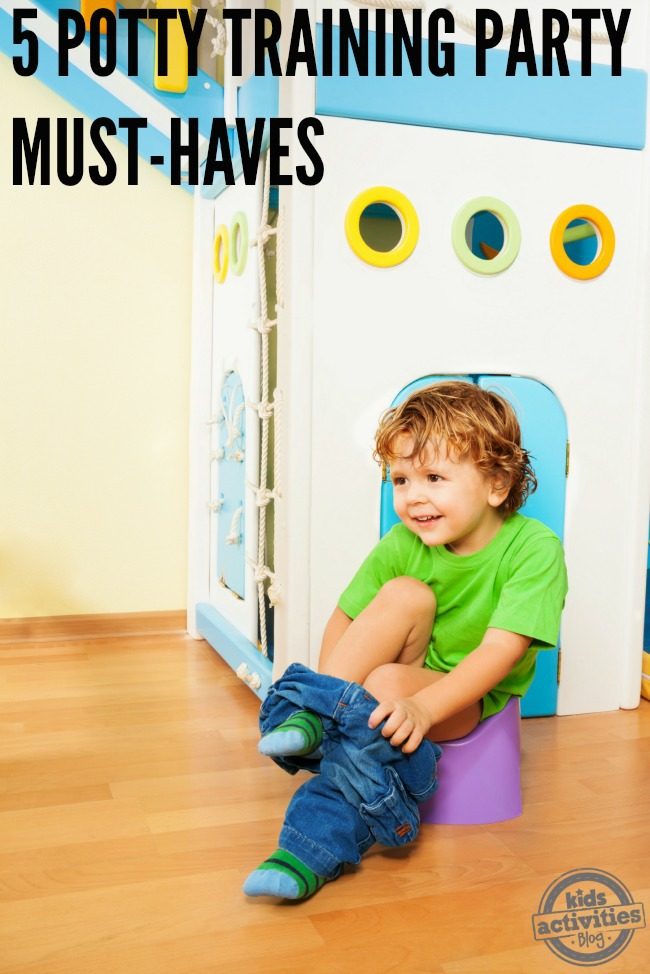 5 potty training party must-haves