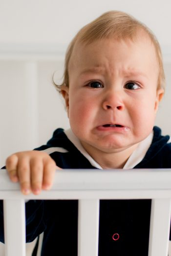 Baby does not like bedtime story video - Kids Activities Blog - baby crying at crib