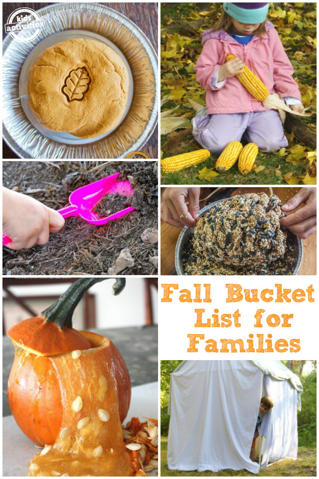 Fall Bucket List for Families