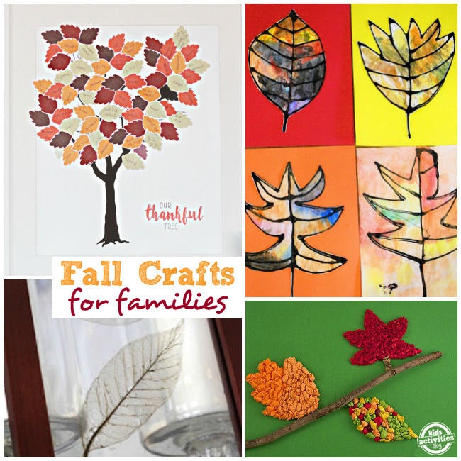 Fall Crafts for Families