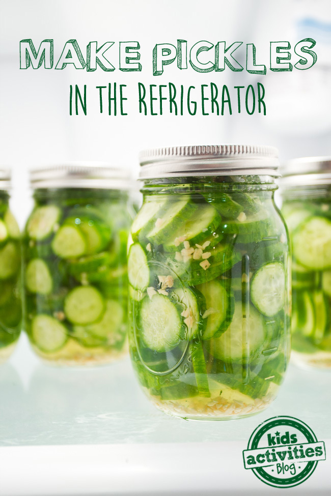 Make Pickles in the Refrigerator