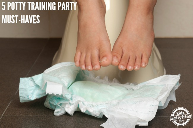 POTTY TRAINING PARTY MUST-HAVES