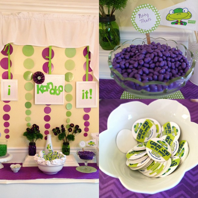 Potty Training Party Decorations