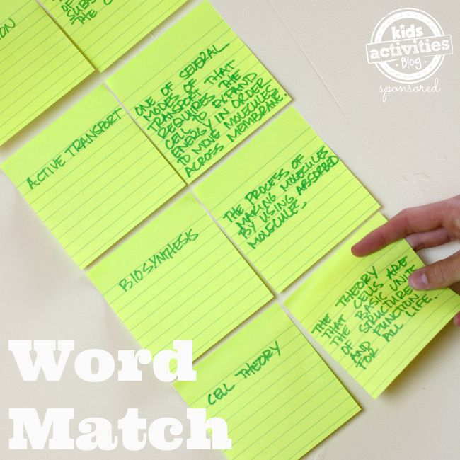Word Match - Active Learning Techniques