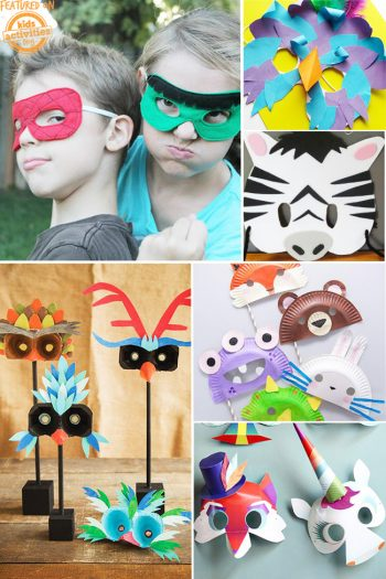 You'll Love These Super Cute and Simple DIY Mask Ideas for Kids