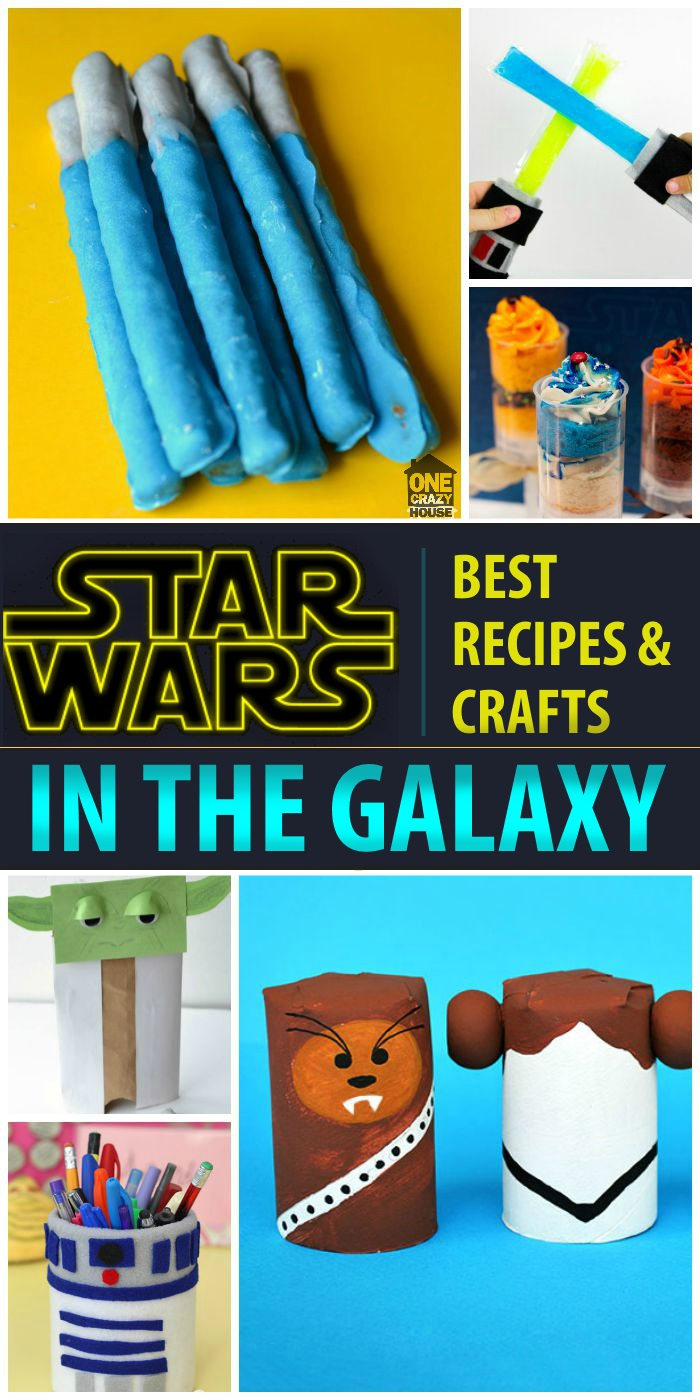 starwars crafts and recipes